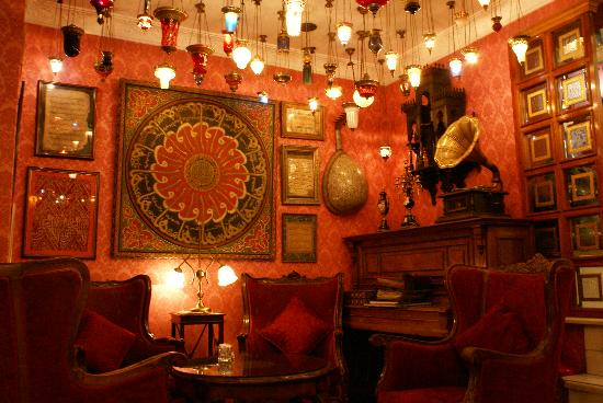 Kybele Hotel: saletta interna