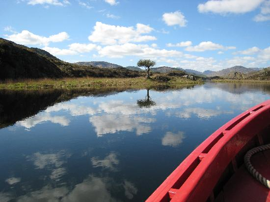 Gap of Dunloe: On the lake during our Gap tour. sls