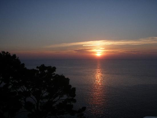 Hoposa Costa d'Or Hotel: sunset from terrace