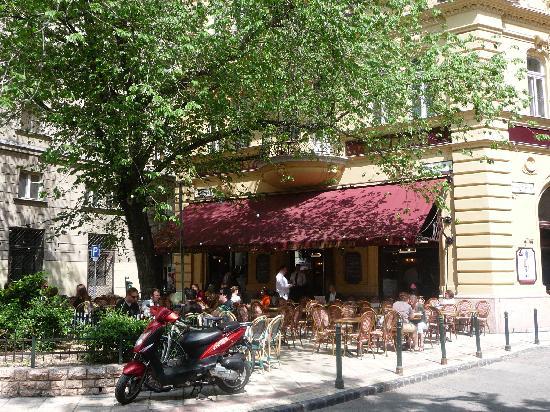 Gerloczy Rooms de Lux: Traumhaft beim schönem Wetter draußen zu frühstücken