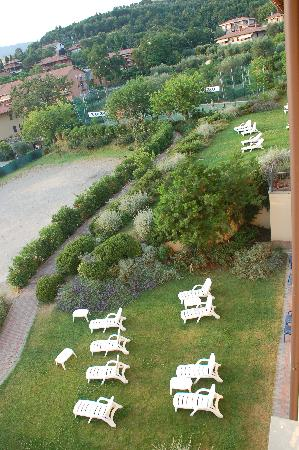 Passignano Sul Trasimeno, Italie : vista dalla camera 304