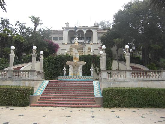 San Simeon, Kalifornia: One of the guest houses