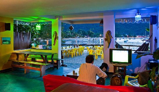 Che Lagarto Hostel Ilha Grande: Vista desde el hostel