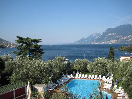 Hotel Baia Verde: View from balcony