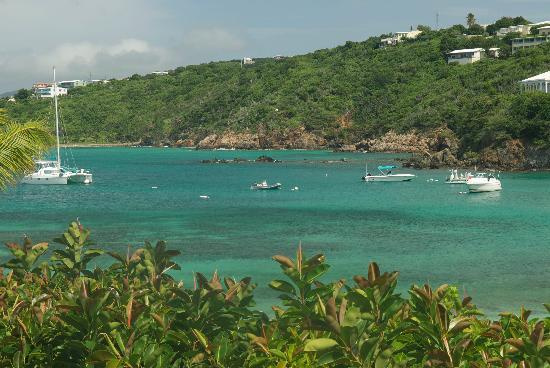 Benner, St. Thomas: Another ocean view from my condo