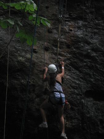 Rincon de La Vieja, Costa Rica: Easy rock climbing