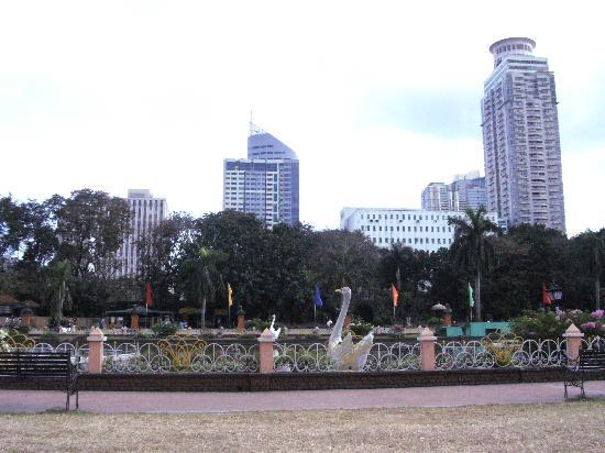 Rizal Park: beautiful view