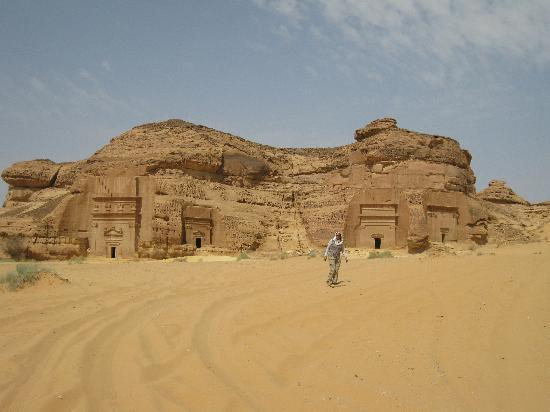 Al Ula, Saudi Arabia: a 50oC day!
