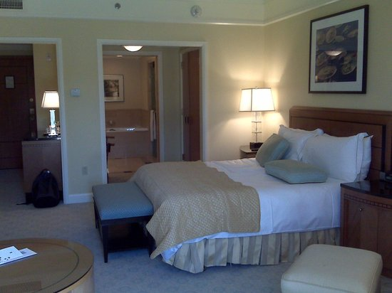 The Umstead Hotel and Spa: My room