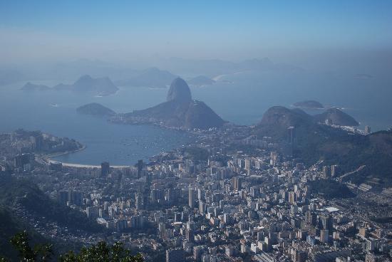 Rio de Janeiro, RJ: Rio de Janiero from Corcovada Mountain