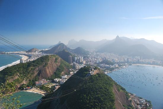 Rio de Janeiro, RJ: Rio from Sugarloaf mountain