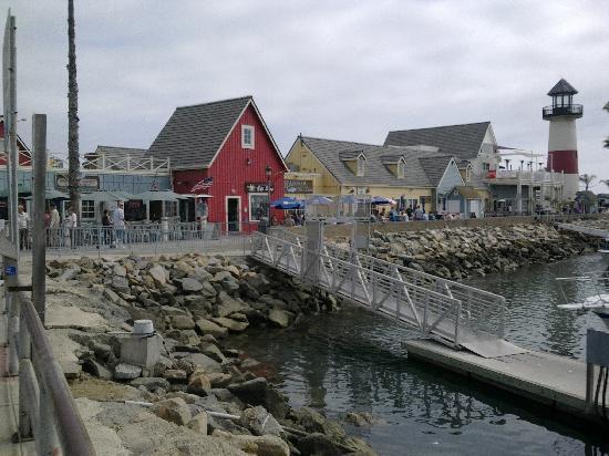 Days Inn Oceanside: A section of the marina.