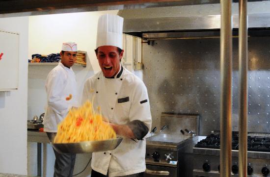 Hotel Club President: Show cooking Pâtes