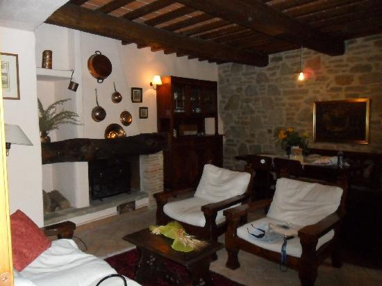 Agriturismo Azienda Agricola il Pozzo: Loungeroom