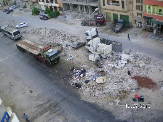 Benghazi, Libya: Splendida vista dalla stanza