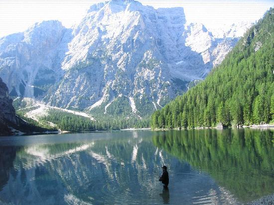 Alta Pusteria, Italie : lago di Braies