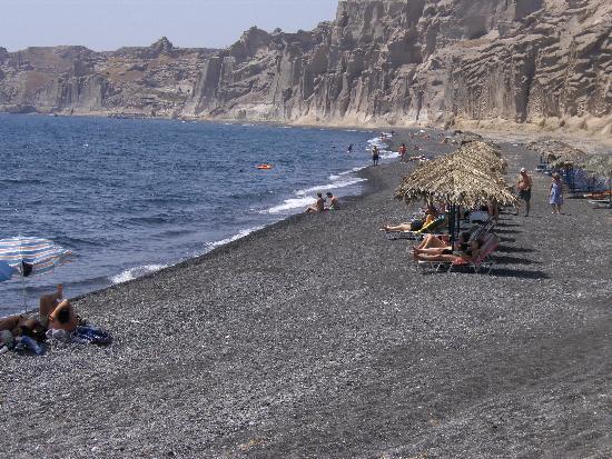 Alkyon: stranden santorini