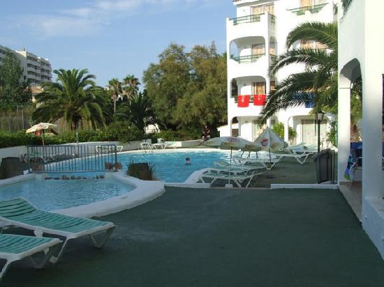 Europa: The pool area