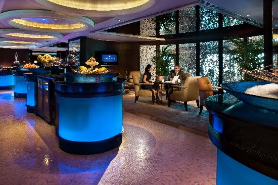 InterContinental Grand Stanford: Club InterContinental Lounge