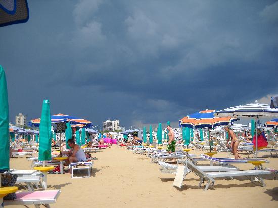 Lignano Pineta, Italien: strand