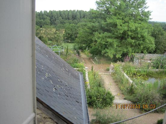 Huismes, Франция: View over Vineyards from bedroom