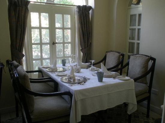 Villa Belle Epoque : comedor del hotel