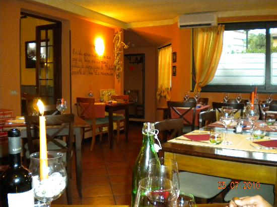 L'insolita Zuppa : Dining area