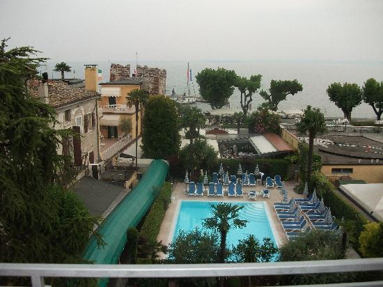 Hotel Catullo: View from 315