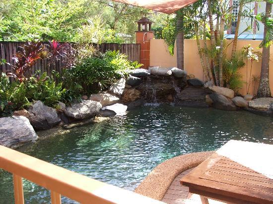 Balinese Motel: mini-garden