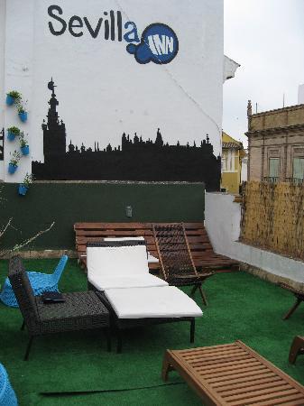 Sevilla Inn Backpackers: 屋上その1