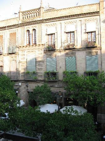 Sevilla Inn Backpackers: 部屋からの眺め