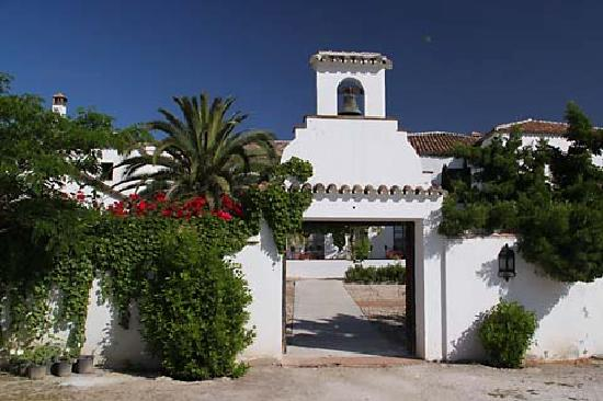 Hotel Molino del Arco: Hotel vom Garten aus
