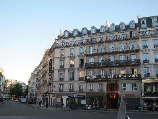 hotel streetview photo de londres et new york hotel paris tripadvisor. Black Bedroom Furniture Sets. Home Design Ideas