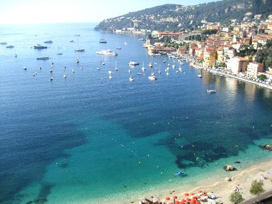Villa & Jardins Ephrussi de Rothschild: On the way from Nice