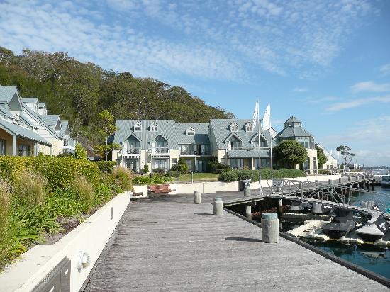 boarwalk picture of anchorage port stephens corlette. Black Bedroom Furniture Sets. Home Design Ideas