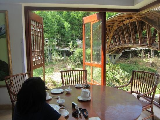 Crosswaters Ecolodge & SPA: view from the restaurant
