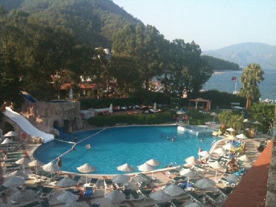 Marti La Perla: view from balcony room 327