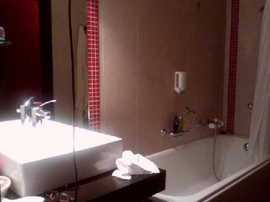 Grand Hotel Des Bains : la salle de bain