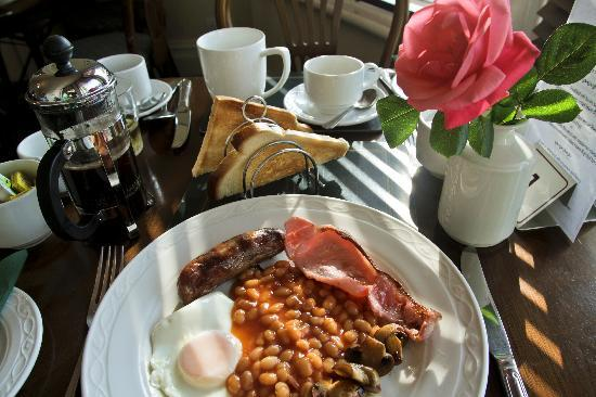 Ashley Villa Guest House: Full English breakfast
