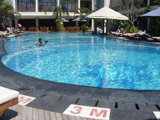 Pool Picture Of Best Western Resort Kuta Kuta Tripadvisor