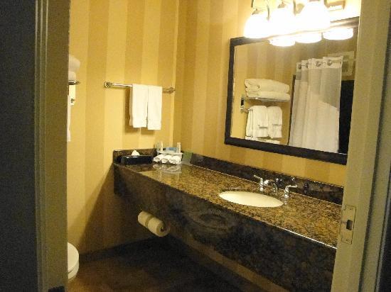 Holiday Inn Express & Suites Seattle North - Lynnwood: Nice Bathroom