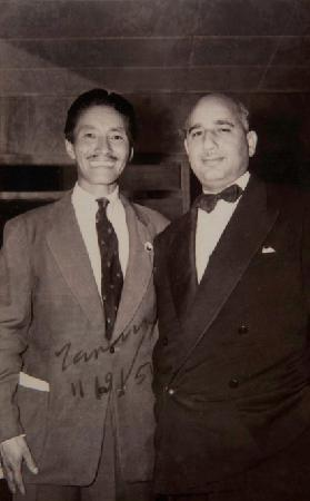 The Elgin, Darjeeling: K.C Oberoi with Tenzing Norgay at the Elgin