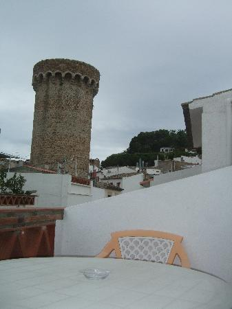 Hotel Maria Rosa: View from balcony