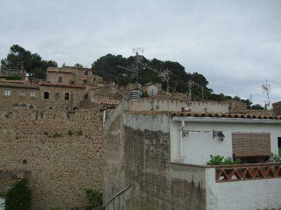 Hotel Maria Rosa: View onto Old Town