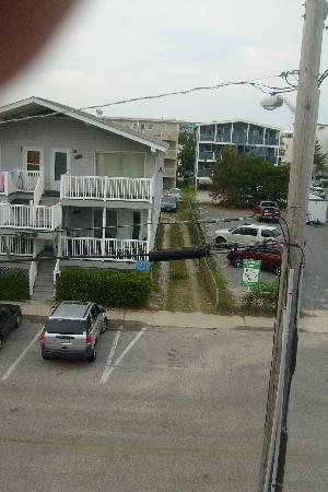The Beachmark Motel: view from 3rd floor