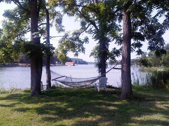 Combsberry Inn Bed and Breakfast: The relaxing hammock with lovely view