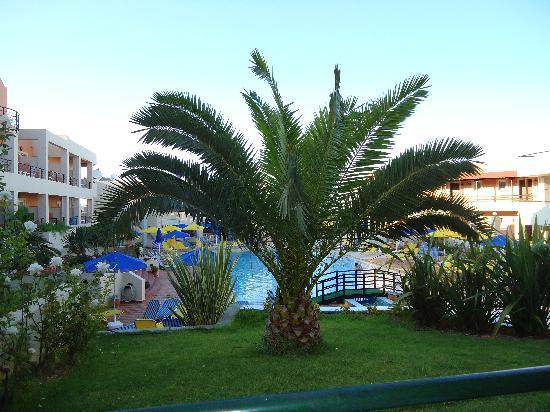 Pegasus Hotel: Utsikt fra leilighet med markterasse