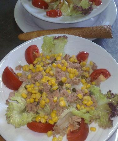 Mediterra Art Restaurant : Toothsome Tuna Fish Salad