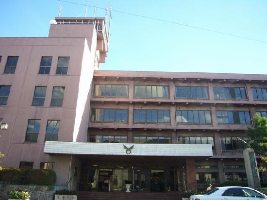 Kashihara, Japan: 訪問の証に市役所の写真を撮っています