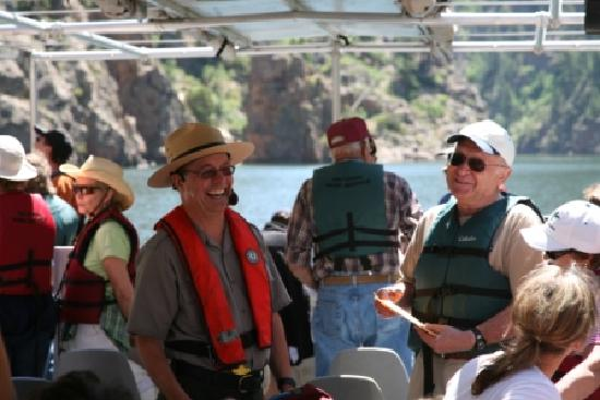 Montrose, Kolorado: Morrow Point Boat Tour
